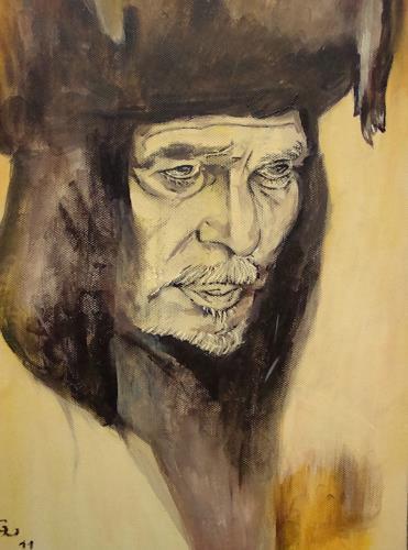 Günther Wunderlich, Araber, People: Men, Society, Contemporary Art