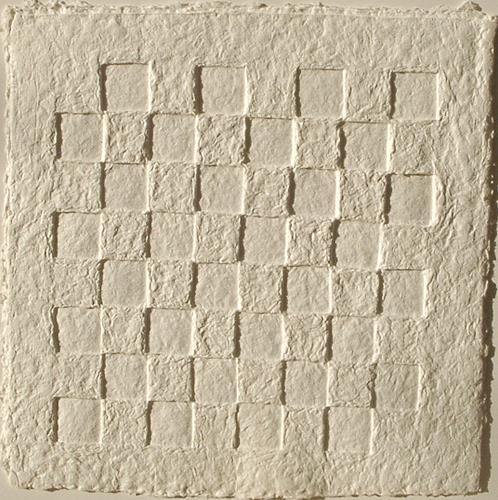 Elke Rehder, PaperArt Schachbrett - Objekt  aus handgeschöpftem Papier, Game