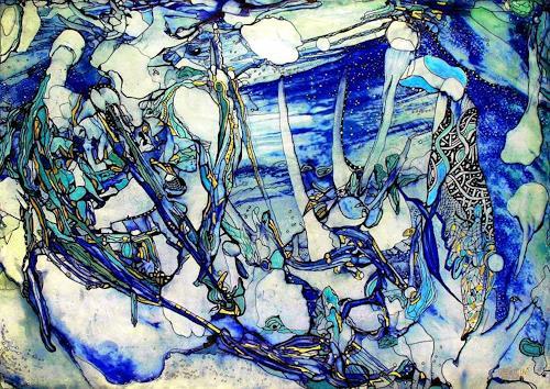 WERWIN, Eiszeit, Abstract art, Abstract art, Contemporary Art