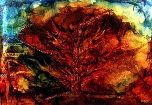 WERWIN, Letzter Zeuge, Abstract art, Abstract art, Abstract Art