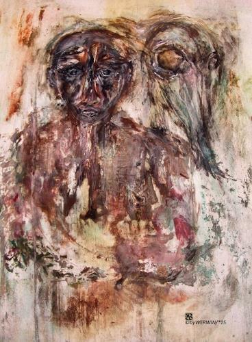 WERWIN, Trauma, War, People, Contemporary Art