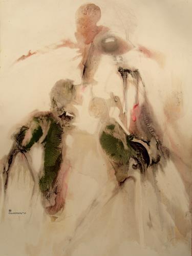 WERWIN, kannst du dich denn in mich reinfühlen, Emotions, Contemporary Art, Abstract Expressionism