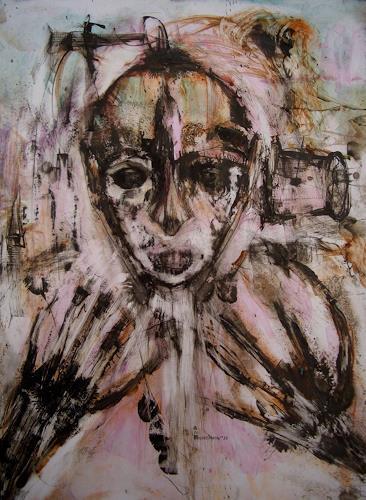 WERWIN, nachts allein auf dem papier, Burlesque, Contemporary Art