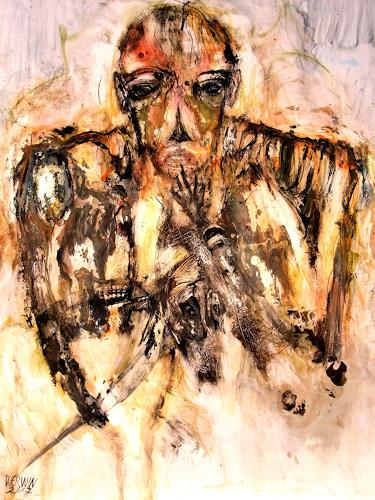 WERWIN, Einer der Gleichen, People: Men, Contemporary Art, Abstract Expressionism