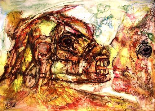 WERWIN, Homo Homini Lupus, People, Surrealism