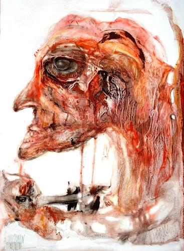 WERWIN, auge um auge, People, Surrealism, Abstract Expressionism