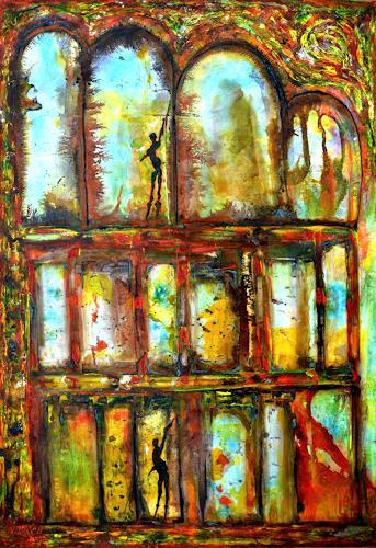 WERWIN, Angels at my Gate, Fantasy, Surrealism