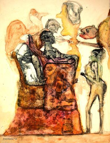 WERWIN, und was heißt hier künstlerische freiheit, Fantasy, Surrealism, Abstract Expressionism