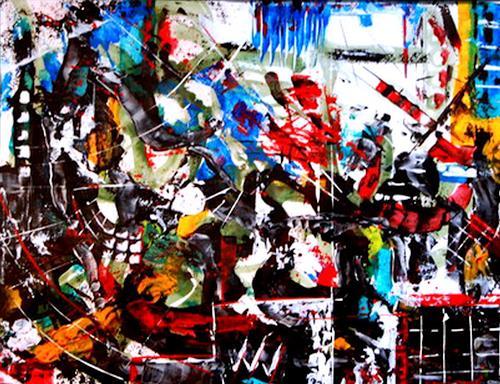 Steve Soon, lookmehappy, Abstract art, Radical Painting
