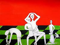 Steve-Soon-People-Families-Contemporary-Art-Neo-Expressionism