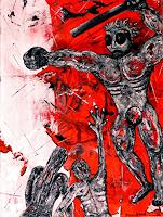 Steve-Soon-Emotions-Aggression-Contemporary-Art-Neo-Expressionism