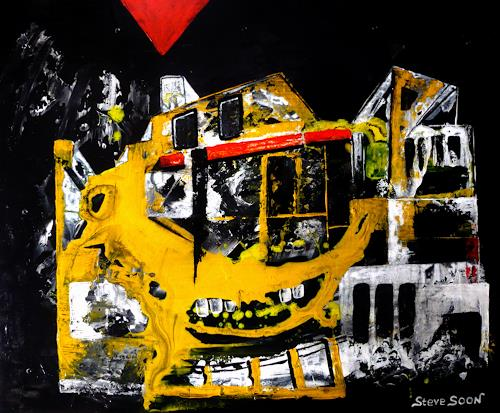 Steve Soon, Dekonstruktion, Architecture, Burlesque, Radical Painting, Abstract Expressionism