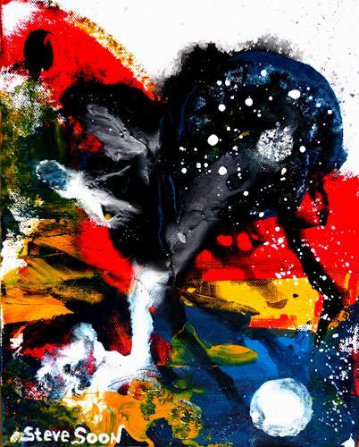 Steve Soon, nonZenz II, Abstract art, Neue Wilde, Abstract Expressionism