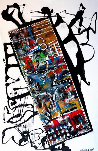 Steve Soon, filmorama, Abstract art, Neo-Expressionism