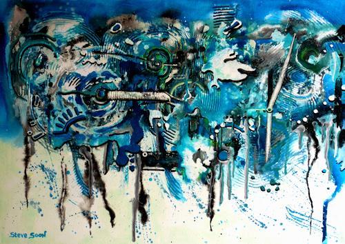 Steve Soon, timeless, Abstract art, Radical Painting