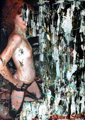 Steve Soon, actrice V, Erotic motifs: Female nudes, Contemporary Art