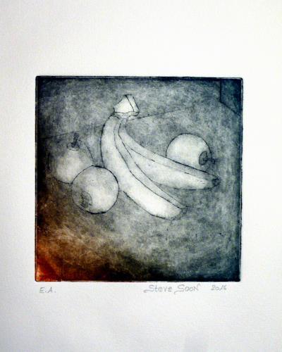 Steve Soon, Stillleben - Obst, Still life, Realism