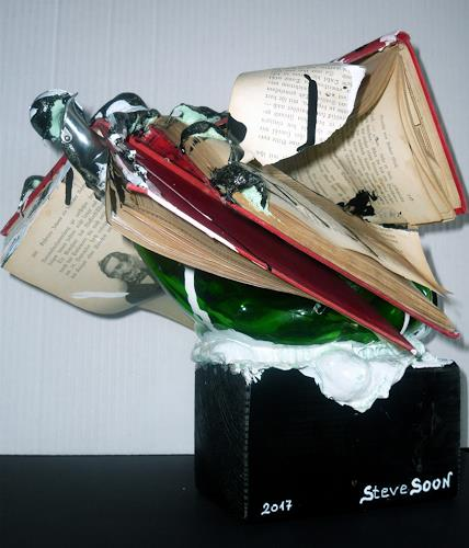 Steve Soon, Buchdruck, Humor, Conceptual Art, Abstract Expressionism