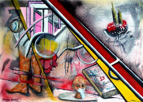 Steve Soon, ars, in quo vadis?, Fantasy, Neo-Expressionism, Abstract Expressionism
