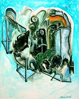Steve-Soon-Burlesque-Fantasy-Modern-Age-Expressionism-Neo-Expressionism