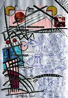 Steve-Soon-Burlesque-Fantasy-Modern-Age-Abstract-Art-Action-Painting