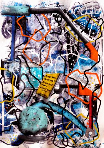 Steve Soon, KUNST!!, Miscellaneous, Technology, Radical Painting, Abstract Expressionism