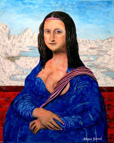Steve Soon, daVin-Soon, Erotic motifs: Female nudes, Modern Age