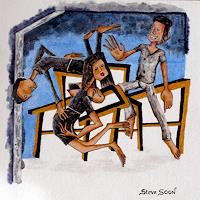 Steve-Soon-People-Group-Miscellaneous-Erotic-motifs-Modern-Age-Expressionism-Neo-Expressionism