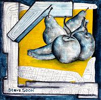 Steve-Soon-Still-life-Plants-Fruits-Modern-Times-Modern-Times