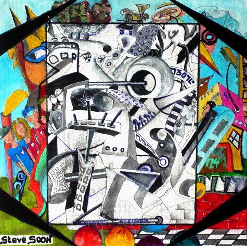 Steve Soon, Menschen mit Herz, People: Group, Art Brut