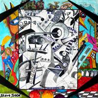Steve-Soon-People-Group-Modern-Age-Abstract-Art-Art-Brut