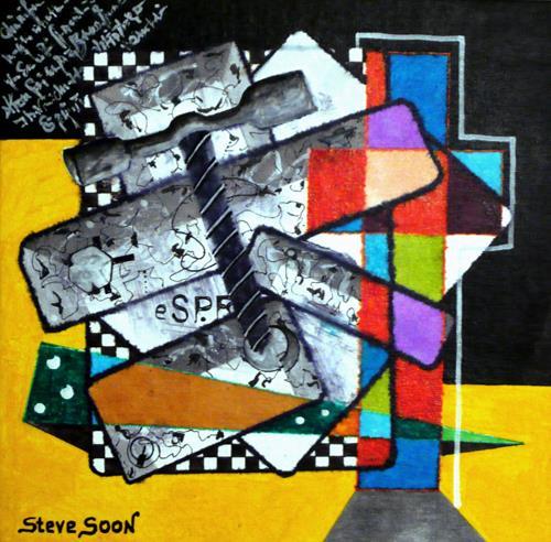 Steve Soon, cross, Decorative Art, Constructivism