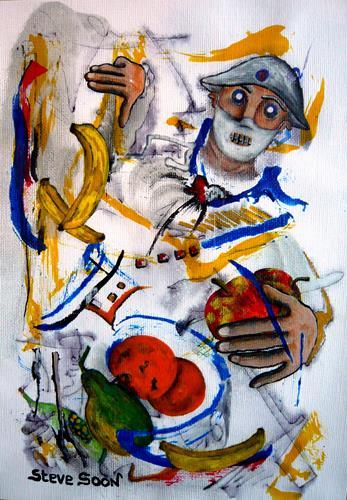 Steve Soon, Hauptsache gesund, People: Men, Neo-Expressionism