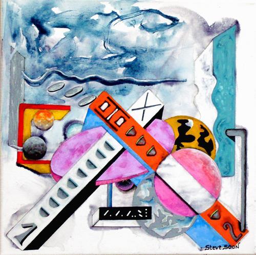 Steve Soon, Radze Byonal II, Decorative Art, Fantasy, Constructivism, Abstract Expressionism