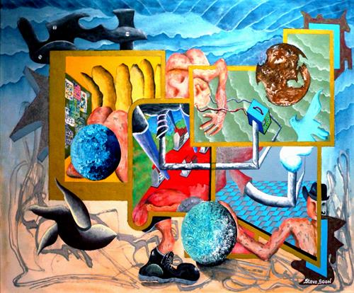 Steve Soon, Skrypsis - Poirot`s einzig ungelöster Fall, Burlesque, Fantasy, Expressive Realism, Abstract Expressionism