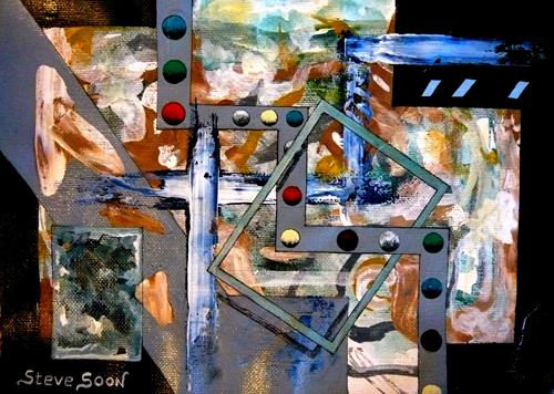 Steve Soon, cro-Balique, Abstract art, Radical Painting