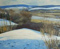 Ulrich Hollmann, Ausblick im Winter