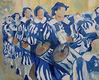 Ulrich Hollmann, Trommler blau-weiß