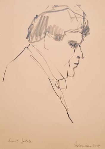 Ulrich Hollmann, Rostropovic, People: Men, Music: Musicians, Contemporary Art