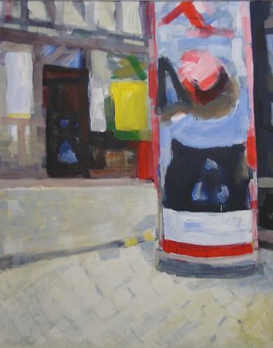 Ulrich Hollmann, Großes Marktbild 30, Market, Neo-Expressionism