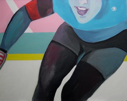 Ulrich Hollmann, Großes Eisbild 4, Sports, Neo-Expressionism