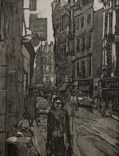 Ulrich Hollmann, Latreille, Architecture, Market, Neo-Expressionism, Abstract Expressionism