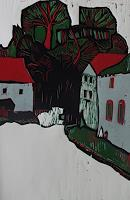 Ulrich-Hollmann-Miscellaneous-Buildings-Miscellaneous-Landscapes-Contemporary-Art-Neo-Expressionism