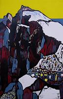 Ulrich-Hollmann-Landscapes-Mountains-Nature-Rock-Contemporary-Art-Neo-Expressionism