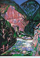 Ulrich-Hollmann-The-world-of-work-Landscapes-Mountains-Contemporary-Art-Neo-Expressionism