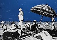 Ulrich-Hollmann-Leisure-Landscapes-Sea-Ocean-Modern-Age-Abstract-Art