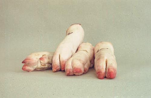 Christiane Rittner, Pigfeet, Still life, Miscellaneous, Contemporary Art, Abstract Expressionism