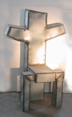 Metall & Gestaltung, Heiliger Stuhl, Mythology, Symbol, Kunst am Bau