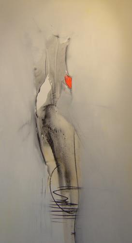 Michael Maderthaner, Akt, Erotic motifs: Female nudes, Abstract art, Contemporary Art