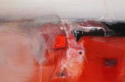 Michael Maderthaner, Landschaft, Abstract art, Landscapes: Plains, Contemporary Art, Expressionism